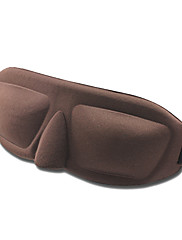 3D Soft Prodyšná Seamless Černé Sleeping Eye Mask (Random Color)