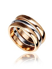 Jednoduché Alloy Ring Set