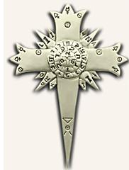 Šperky / Odznak Inspirovaný D.Gray-man Allen Walker Anime Cosplay Doplňky Odznak Stříbro Stop Pánský