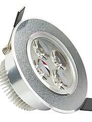 ロハス®4W 2800K-3200K 300LM 4-LEDコールドホワイトライト天井ランプドライバ/ W  - シルバー(AC 85〜265V)