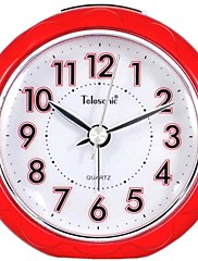 Telesonic™円形の常夜灯アラーム時計