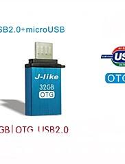 OTGスマートフォンやPC用のJ-様USB 2.0 /マイクロUSB OTG 32グラム
