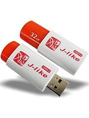 J-様USB 3.0 32ギガバイトのフラッシュドライブ