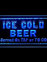冷たいビールをタップ広告LEDライトサイン