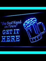 ユーズドビール広告LEDライトサイン