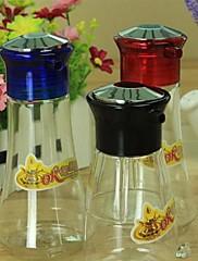 kuchyňské zásoby koření láhve malé, plastové 6.3x5.5x13.5cm