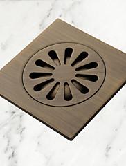 アンティーク真鍮の床ドレン(1018-J-29-13)
