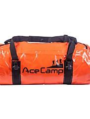 Outdoor Camping Foldable Waterproof Dry Bag Duffel 60x30cm 40L (Orange Blue Black)