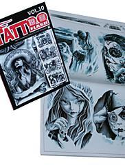 duhovi i goblini tetovaža uzorak knjiga