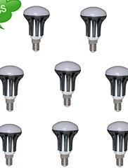 8本R50 E14 8ワット(=インカの75ワット)CRI>80 720lm 15x3022smd 3000K温白色がLEDスポットライト(交流85-265v)