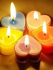 romantické srdce ve tvaru svíčky stranické