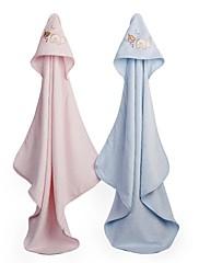 赤ちゃんのための竹フード付きタオル