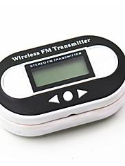 FM vysílač s LCD displejem a USB portem