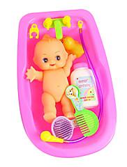 面白い赤ちゃんの洗浄水のおもちゃを模倣