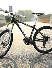 マウンテンバイク サイクリング 27スピード 27.5インチ ユニセックス / 男性 / 婦人向け SHIMANO M370-3/9 ダブルディスクブレーキ スプリンガーフォーク リアサスペンション 普通 PHILLIPS アルミニウム合金