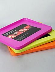 多機能まな板、プラスチック38×30×2.5センチメートル(15×11.9×1.0インチ)ランダムな色
