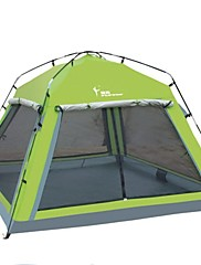 FlyTop® 2 persons Tent Triple One Room Camping Tent 1500-2000 mm OxfordWaterproof Breathability Ultraviolet Resistant Quick Dry
