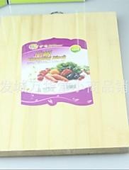 竹まな板、竹32×24×3.5センチメートル(12.6×9.5×1.4インチ)