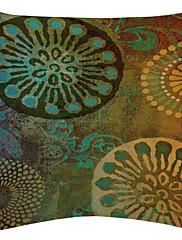 zeleni cvjetni disk baršun dekorativne jastučnicu
