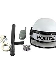 Zbraně a výzbroj Policie Festival/Svátek Halloweenské kostýmy Stříbrná / Černá Jednobarevné Více doplňků Halloween / Karneval / Den dětí