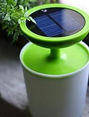 高電力1ワットランプソーラー鉢植えの光が夜の光を主導