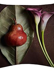 voća i cvijeća baršuna dekorativne jastučnicu