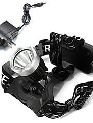 Čelovky LED 1600 Lumenů Režim Cree XM-L T6 Cree Cree T6 18650 Dobíjecí Kempování a turistika Cyklistika Multifunkční Outdoor