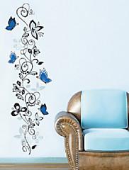 Zvířata / Botanický motiv / Komiks Samolepky na zeď Samolepky na stěnu Ozdobné samolepky na zeď,PVC Materiál Snímatelné Home dekorace