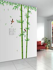 samolepky na zeď lepicí obrazy na stěnu ve stylu bambusové lesy hloubky PVC samolepky na zeď