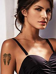 Bolestné andělská křídla tetování samolepky dočasné tetování (1 ks)