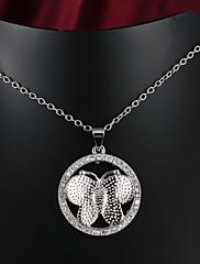 パーティー/カジュアル金は、男性と女性のためのペンダントネックレスの結婚式の宝石類をめっきした2015年新製品