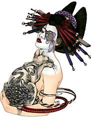 goodturn tetování samolepky netoxický / spodní části zad / vodotěsný ostatní / dospívající vícebarevný papír 1 19cm * 12cm punková kimono