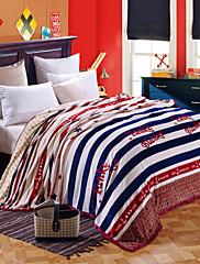 """Coral Fleece Vícebarevný,S potiskem Novinka 100% polyester přikrývky W79""""×L91""""(W200 x L230cm)"""