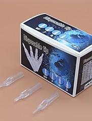 fttattoo® 10 krabic na jedno jasné krátké hroty tetování trysek 500ks u pick velikosti