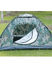 Other 3-4 persons Tent Double One Room Camping Tent 1500-2000 mm Fiberglass OxfordMoistureproof/Moisture Permeability Waterproof