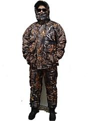 Outdoor Pánské Sady oblečení/Obleky Lov / Rybaření Voděodolný / Zahřívací / Odolné vůči šokům Jaro / Léto / Podzim Tmavě zelená - Ostatní