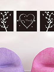黒板 / ファッション / 抽象 / ファンタジー ウォールステッカー 黒板ウオールステッカー , Vinyl stickers 42*42cm,42*42cm,42*42cm