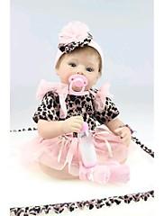 npkdoll生まれ変わった赤ちゃん人形柔らかいシリコーン22inchの55センチメートル磁気口美しいリアルなかわいい男の子の女の子のおもちゃ大きな目、黒のドレス