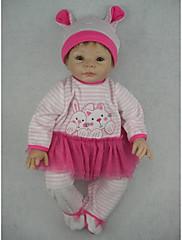 npkdoll生まれ変わった赤ちゃん人形柔らかいシリコーン22inchの55センチメートル磁気口本物そっくりのかわいい素敵なおもちゃの少女紫色のドレス