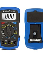 デジタルマルチメータのバックライト電流、電圧、抵抗、バッテリ容量テスターholdpeak HP-36C