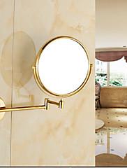 鏡 / 浴室小物 Ti-PVD ウォールマウント 43cm*35cm*10cm(17*13.8*3.9inch) 真鍮 ネオクラシック