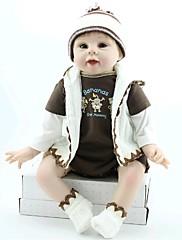 npkdoll生まれ変わった赤ちゃん人形柔らかいシリコーン22inchの55センチメートル磁気口素敵なかわいいおもちゃの少年スポーツ
