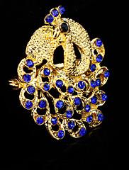 Dámské Brože Módní Páv Modrá Šperky Svatební Párty Zvláštní příležitosti Narozeniny Denní