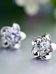 Náušnice Flower Shape Peckové náušnice Šperky Měsíční kámen