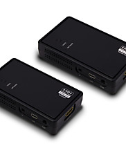 PCのハイビジョンDVDプレーヤー用のワイヤレスエクステンダーキット以上の人気のワイヤレスHDMIビデオ165フィート(50メートル)1080 60HzのHDCP v1.4を3D HDMI