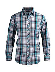 JamesEarl 男性 シャツカラー ロング シャツ&ブラウス グレー - DA202029121