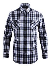 JamesEarl 男性 シャツカラー ロング シャツ&ブラウス ブラウン - DA112009504