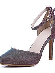 Žene Proljeće Ljeto Jesen Zima D'Orsay cipele Umjetna koža Vjenčanje Formalne prilike Zabava i večer Stiletto potpetica Ružičasta Srebrna