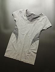 Žene Trčanje Majice Prozračnost Quick dry Proljeće Ljeto Jesen Zima Sportska odjeća Yoga Sposobnost Slobodno vrijeme Sport Trčanje Elastan