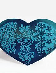 bluezoo kov 07 nail art ražby